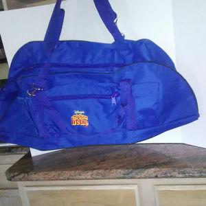 Disney Large Long Luggage/Duffle Tote Bag